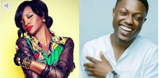 Photo of How rapper, Vector got aroused while kissing Seyi Shay on movie set