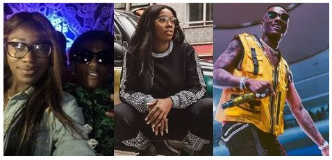 Photo of Lady narrates how she was left embarrassed after she mistakenly asked Tiwa Savage to take a picture of herself and Wizkid