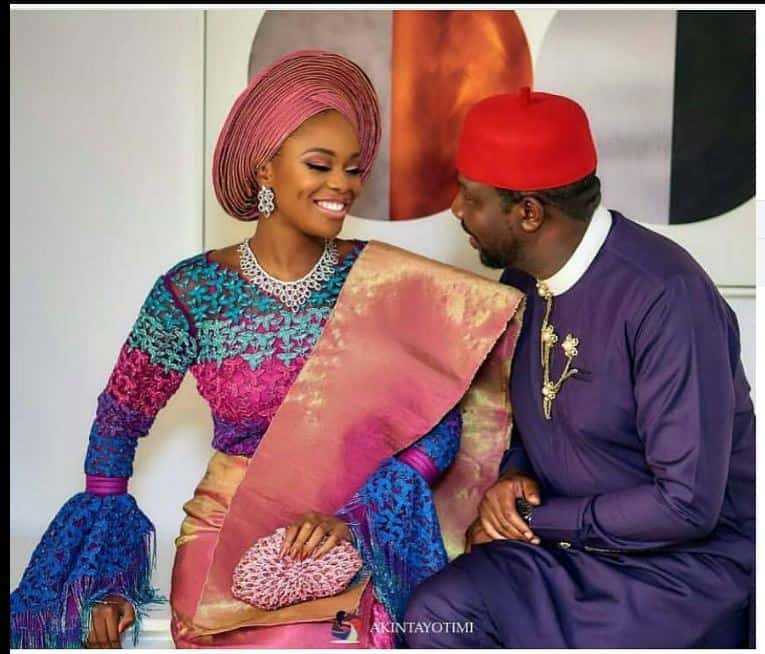 Photo of Celebrities storm Zainab Balogun's wedding in style (photos)