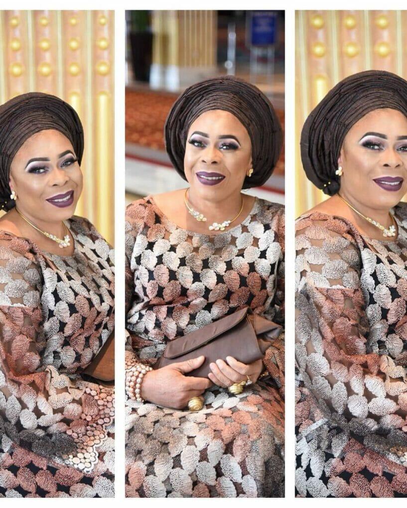 Photo of Mayorkun's mother, actress Toyin Adewale celebrates her birthday with lovely photos