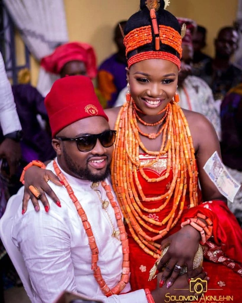 Photos from the traditional wedding of actor Chuks Omalicha and Philomena