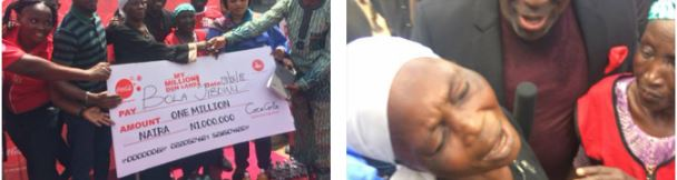 70 year old woman wins N1m