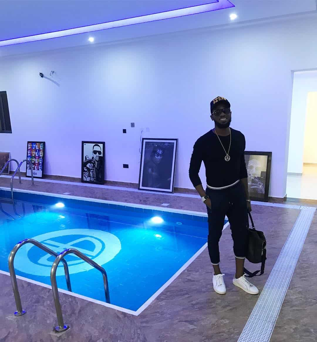 Photo of How a Fan warned D'banj about the pool within his house weeks ago