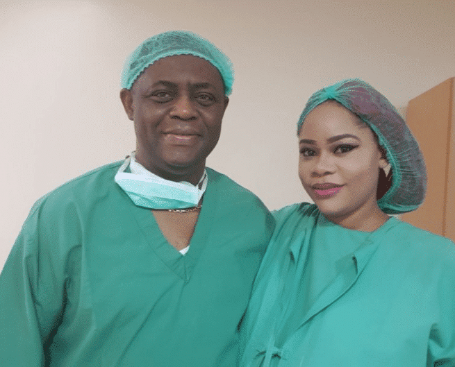 Photo of Adorable new family photo of Femi Fani Kayode, his wife and triplets