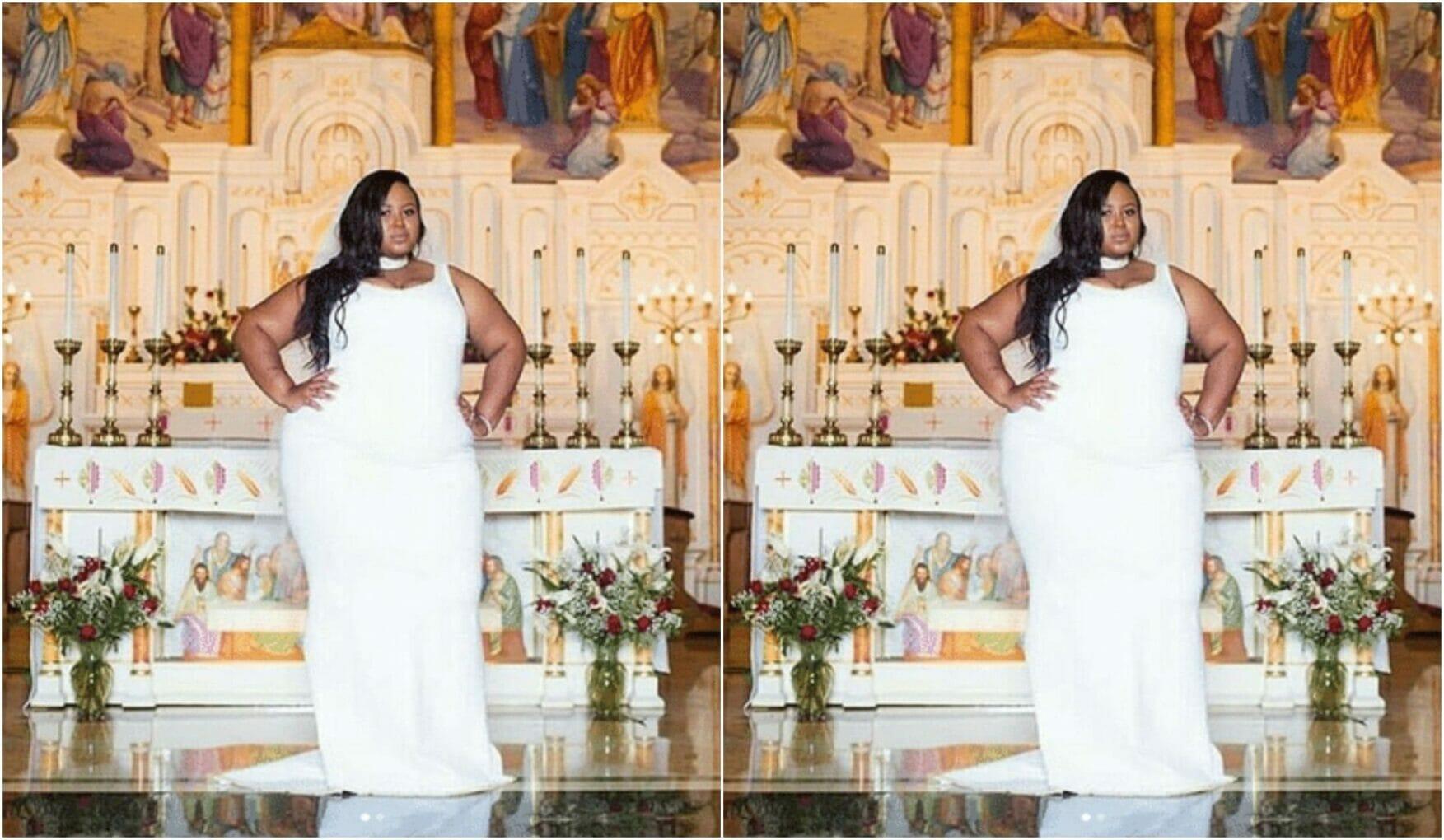 Big Bride who overcame hateful