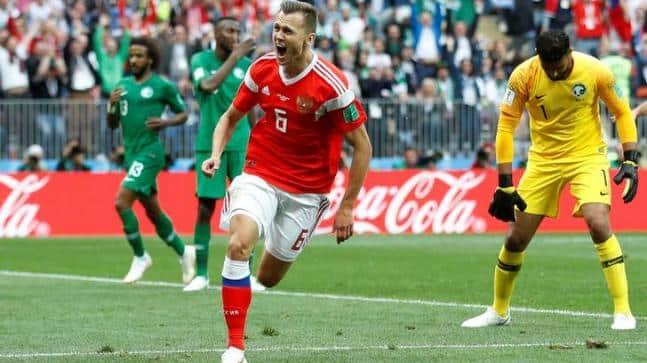 Photo of 2018 World Cup: Russia beats Saudi 5 to 0