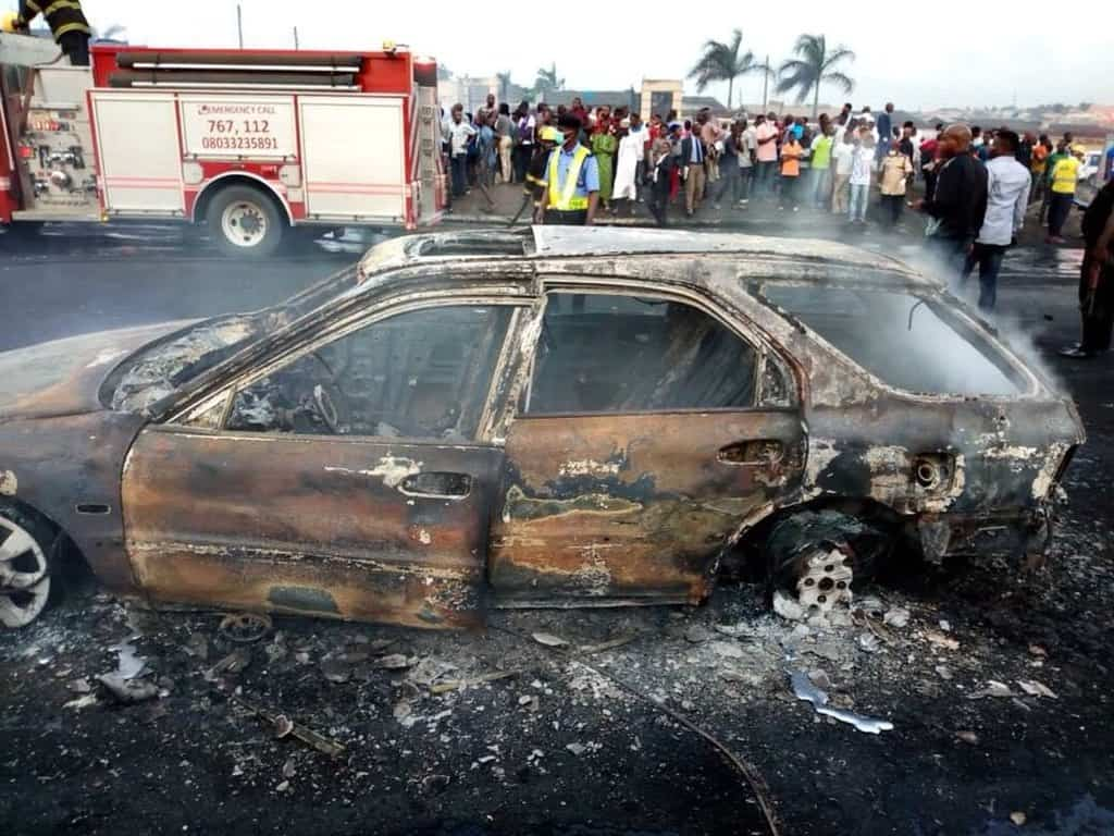 Photo of 9 bodies recovered as Lagos State Government releases statement on tanker explosion (photos)