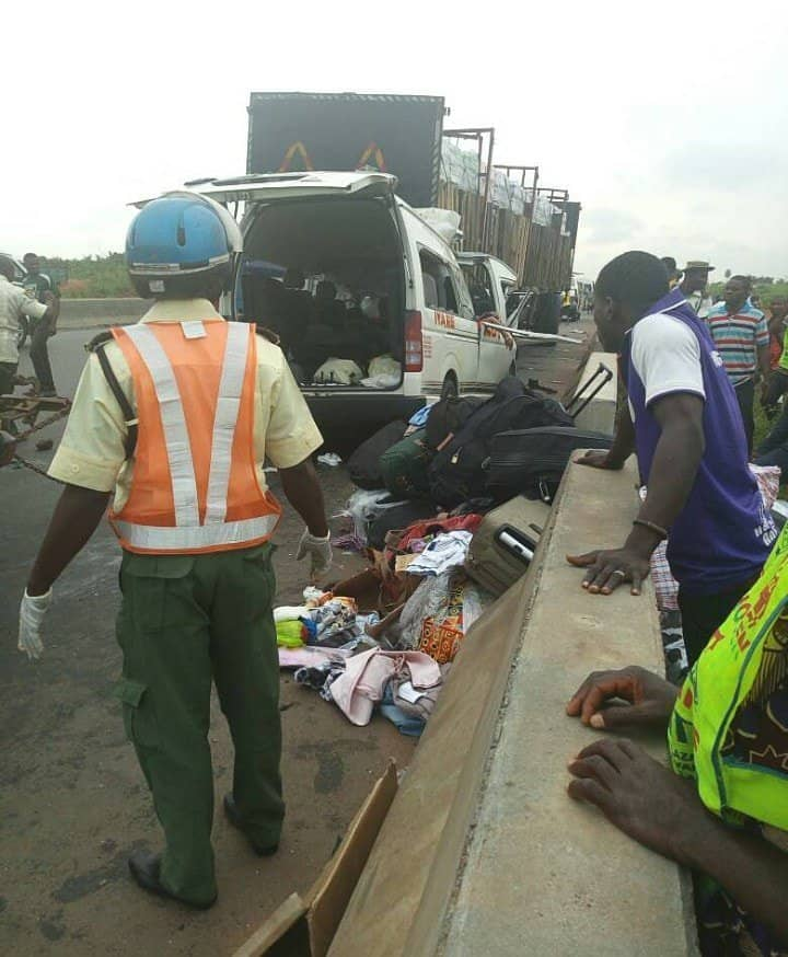 Photo of Eight persons wiped out in accident after flying into the country from Spain (Photos)