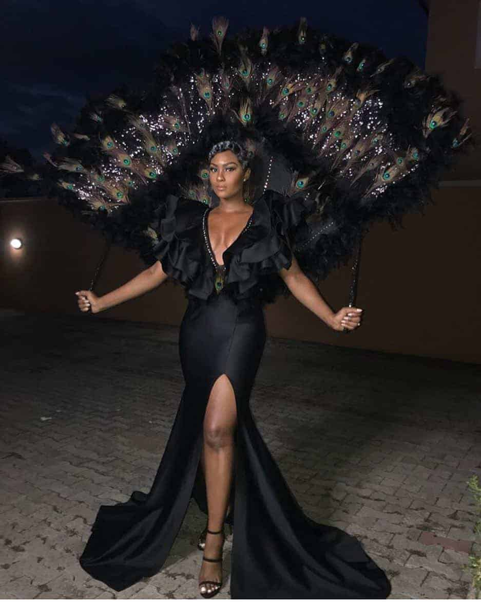 Photo of Oceans8 premiere: Toke Makinwa, Osas Ighodaro Ajibade, others go the extra mile at the Nigeria's MET Gala (photos)