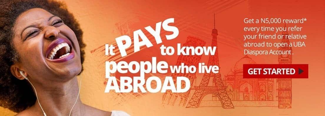 Photo of Diaspora Account: UBA to Reward Loyal Customers in 'Refer-a-Friend' campaign