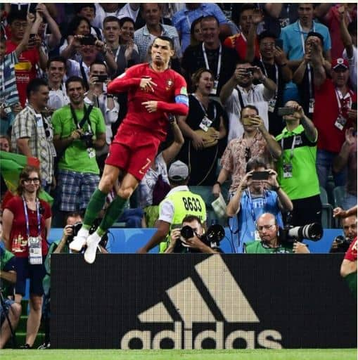 Photo of Portugal Vs Spain: The moment Ronaldo scored free-kick goal to tie at 3:3