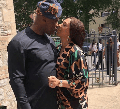 Photo of Pastor Paul Adefarasin and wife celebrate 23rd wedding anniversary