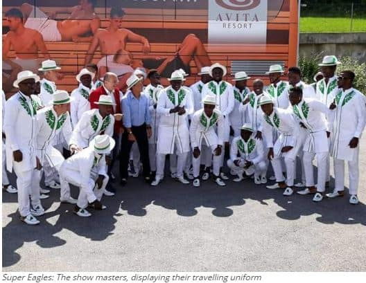 Photo of Super Eagles World cup travel outfit to Russia causes media stir (Photos)