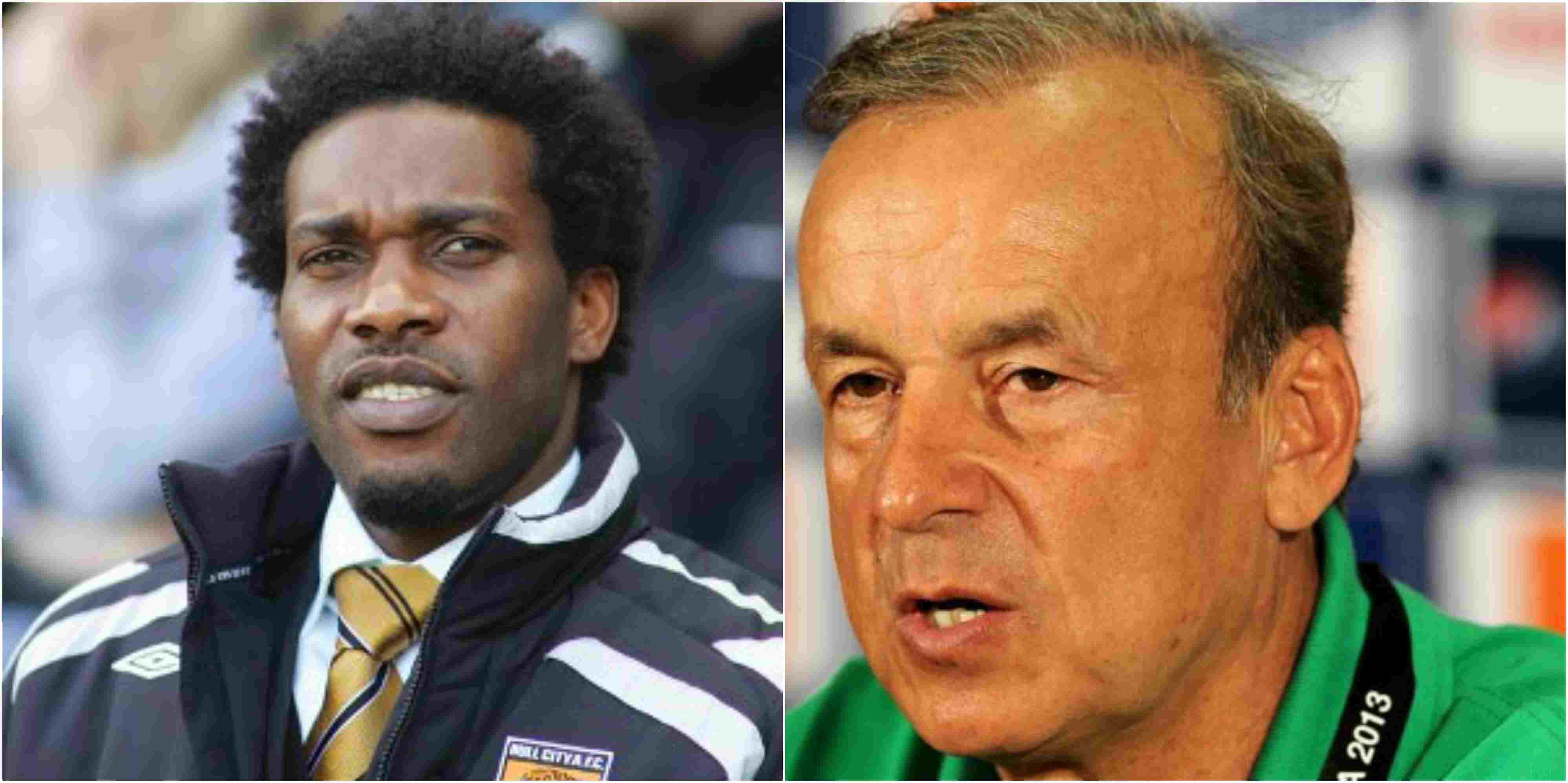 Photo of 2018 World Cup: Gernot Rohr reacts to criticism from Okocha concerning his tactics