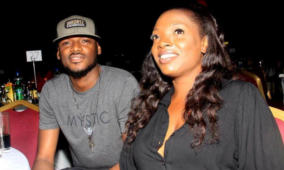 Photo of How Annie Idibia reacted when 2face publicly declared that he loves women