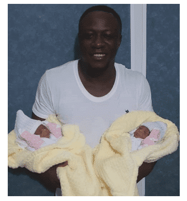 Nigerian singer, Chuddy K welcomes a set of twins (Photo)