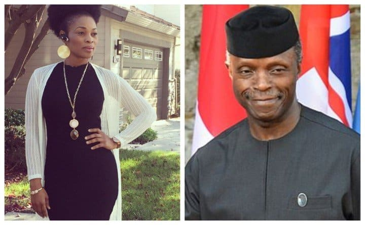 Photo of I can't believe this man is a pastor – Actress Georgina Onuoha slams VP Osinbajo over Plateau killings