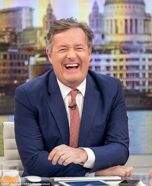 Piers Morgan insults Nigerian man in Pidgin English over Nigeria vs Argentina match