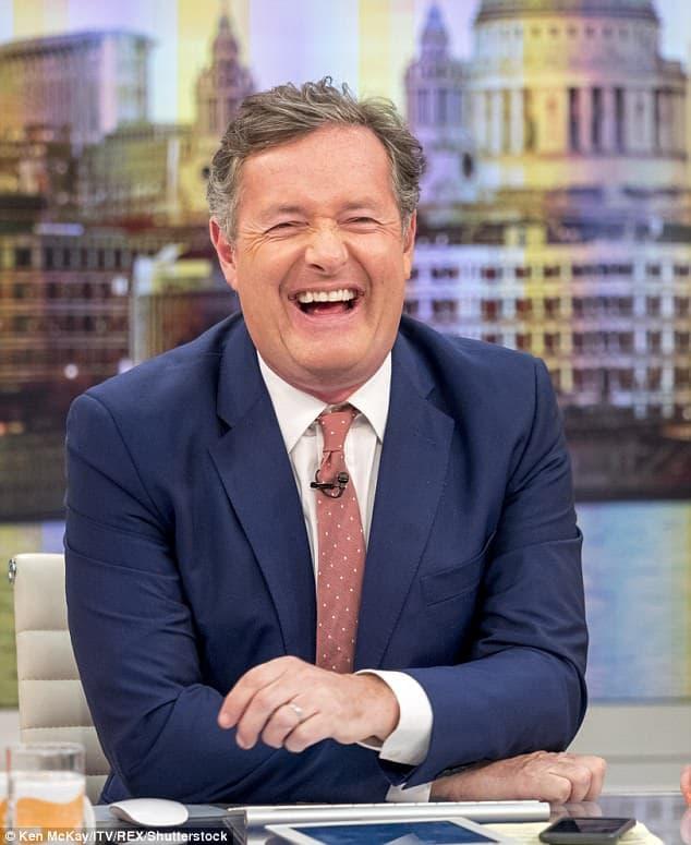 Photo of British journalist, Piers Morgan insults Nigerian man in Pidgin English over Nigeria vs Argentina match