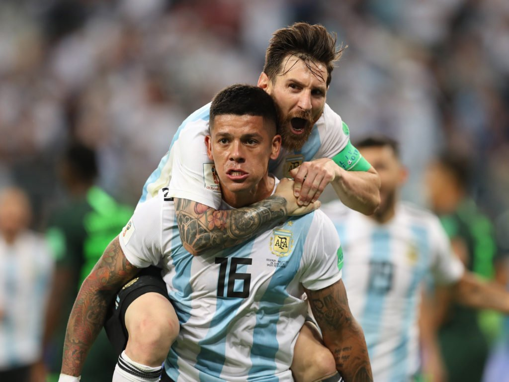 What Lionel Messi told his team mates before the 2nd half against Nigeria
