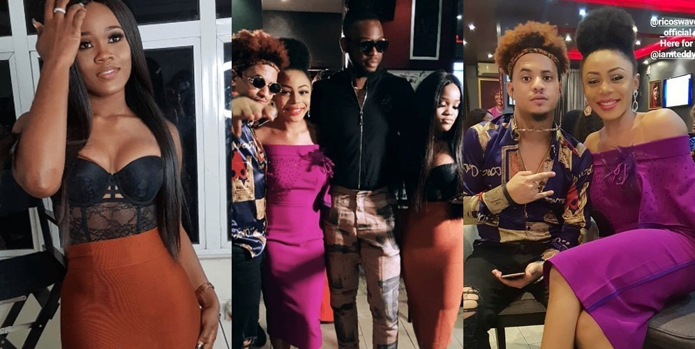 Photo of Cee-C, Rico Swavey, Bam Bam and others turn up for Teddy A's birthday party