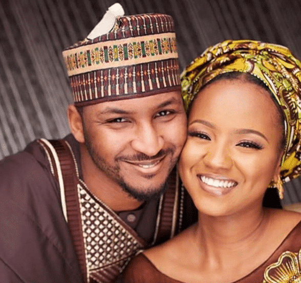 Hauwa Indimi and Muhammed Yar'Adua release pre-wedding photos
