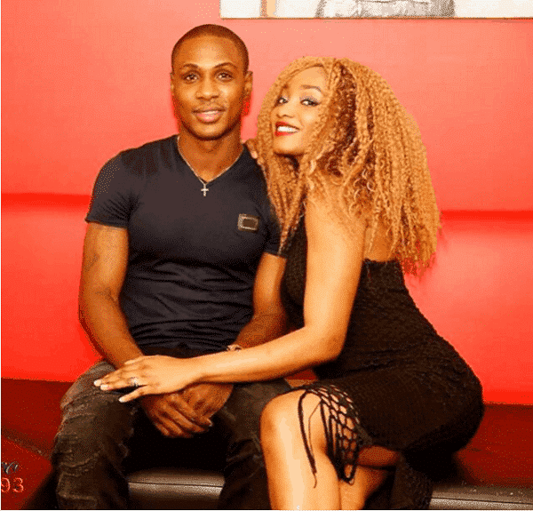 Photo of Odion Ighalo's wife calls Nigerians beggars for criticizing her husband's performance