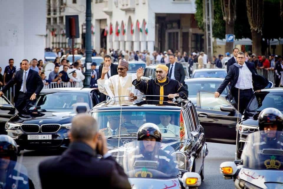 Photo of How Morocco welcomed President Buhari (Photos)