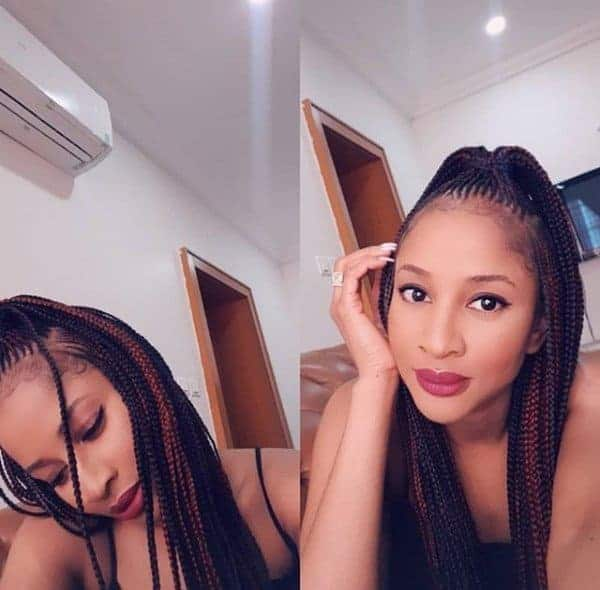 Photo of Adesua Etomi reveals how she was constantly getting hurt by those she cared about