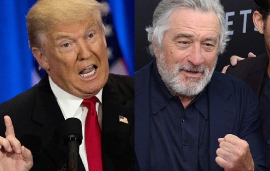 Trump hits back at Robert De Niro, says he has a low IQ