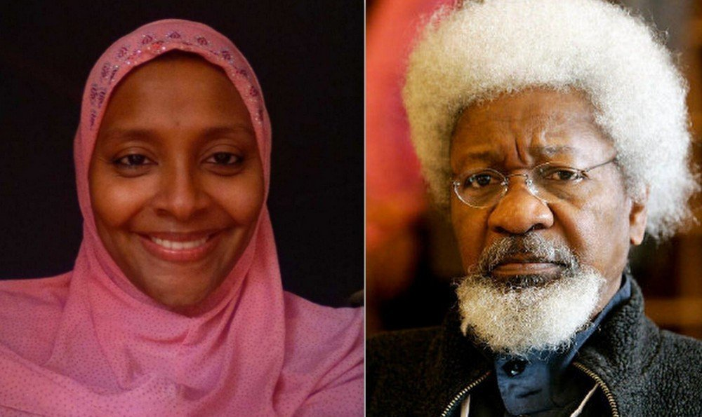 Photo of Your hate for my father shall kill you – Abacha's daughter slams Wole Soyinka