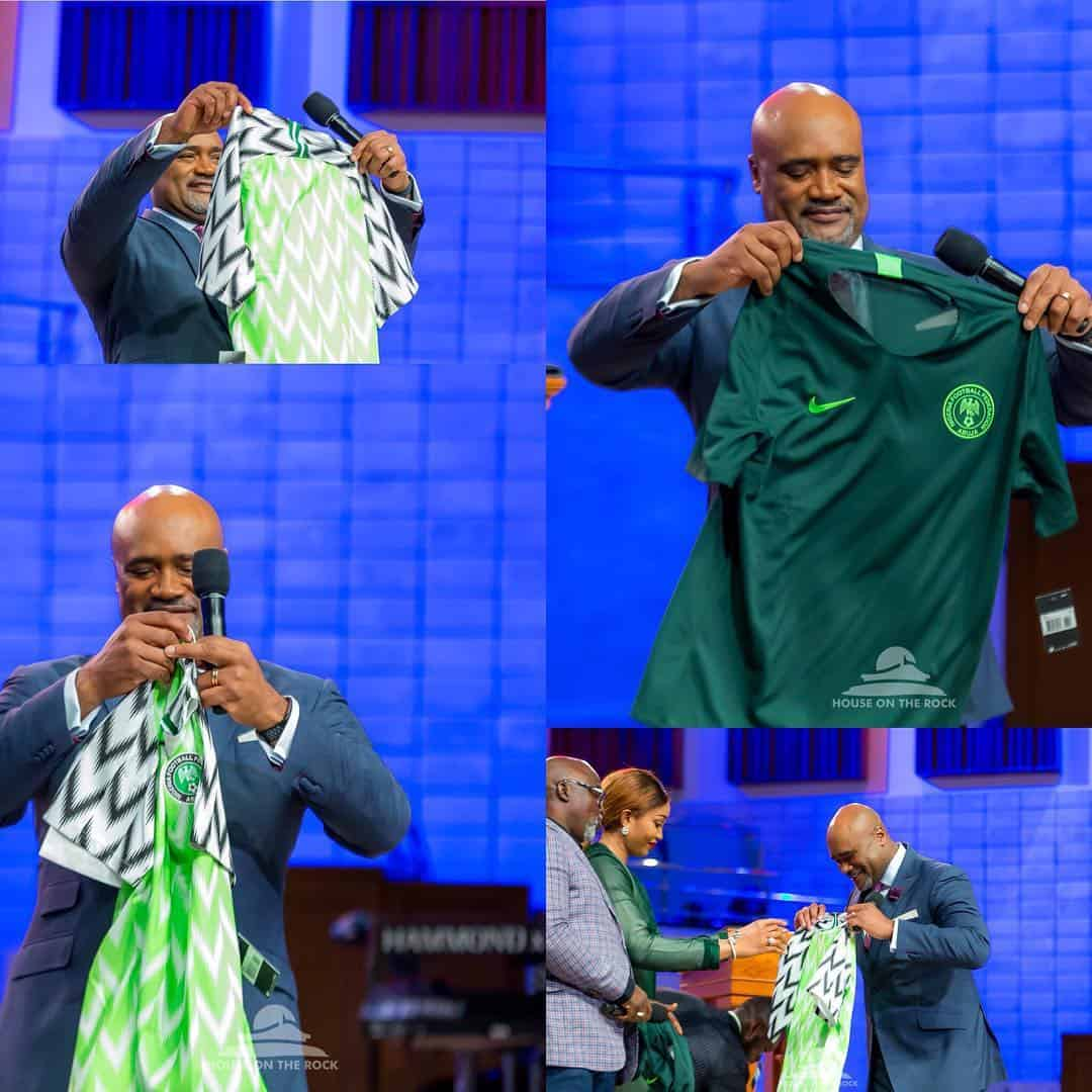 Photo of 2018 World Cup: Pastor Paul Adefarasin prays for the success of the Super Eagles