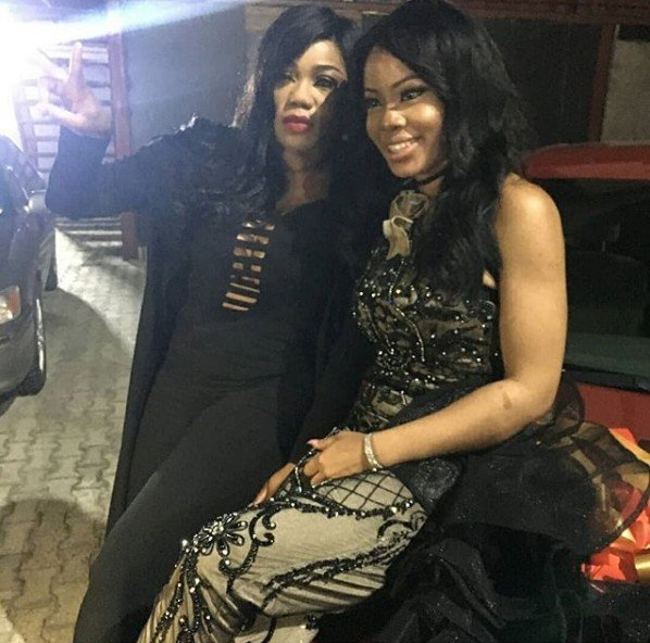 Toyin Lawani blasts fan who told Nina to beware of her because she's a devil