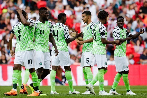 Super Eagles players get numbers for their jerseys