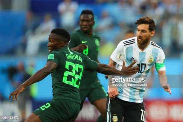 Kenneth Omeruo reveals how bad he felt when the Super Eagles lost to Argentina