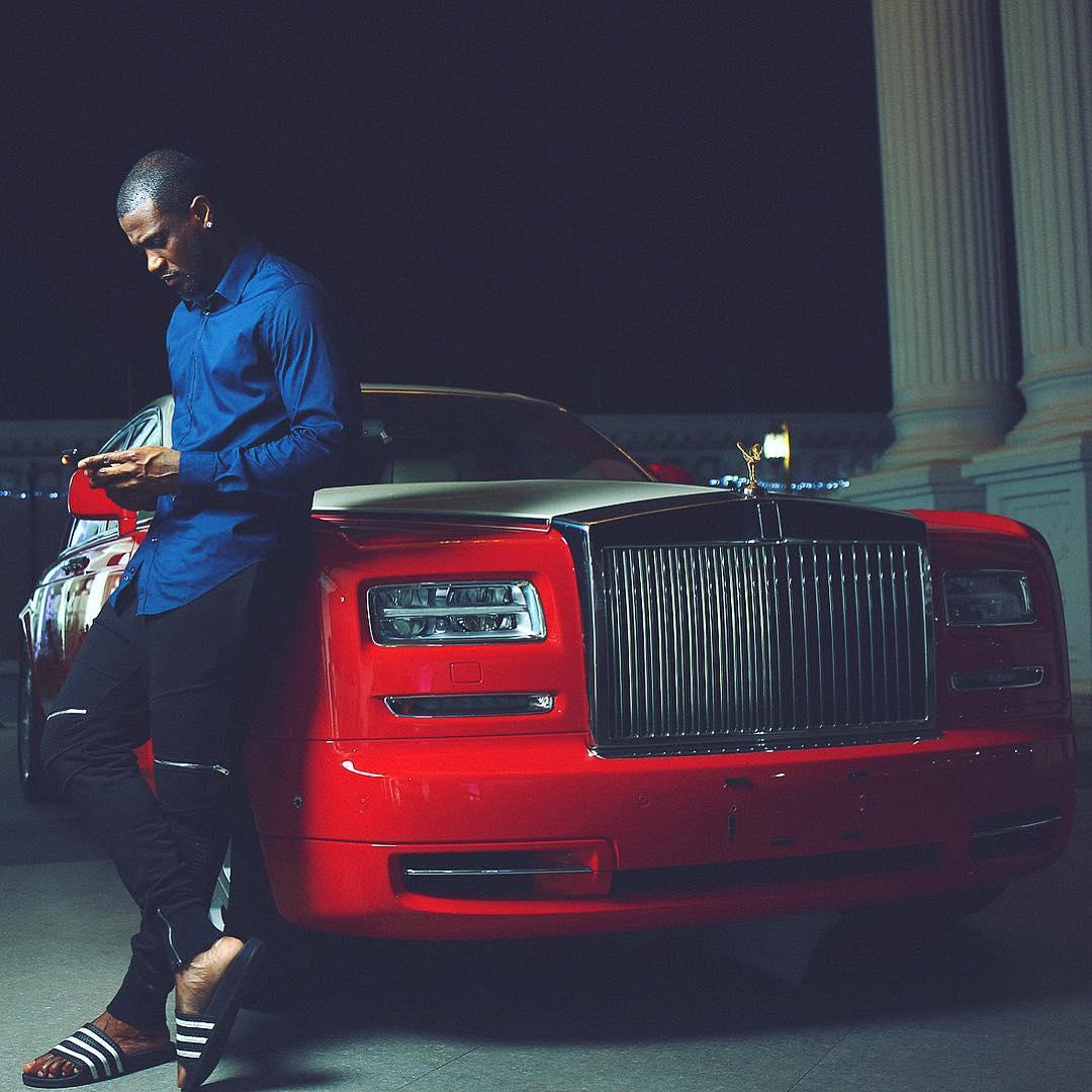 Peter Okoye Mr. P flaunts his amazing car collection (Photos)