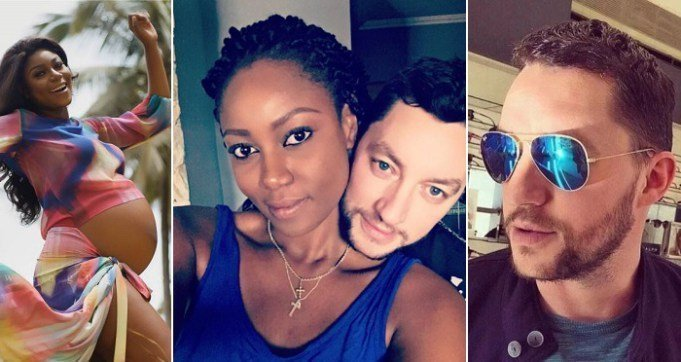 Photo of Yvonne Nelson and her baby daddy are already having issues