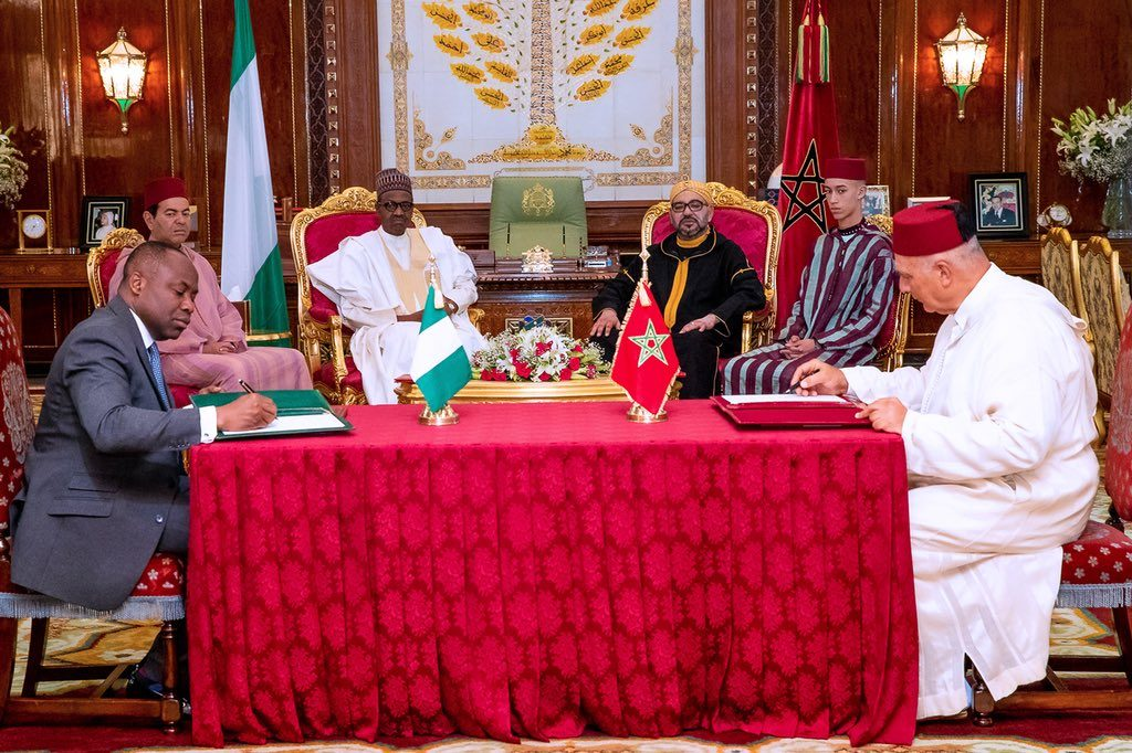 Nigeria and Morocco sign agreement on regional gas pipeline