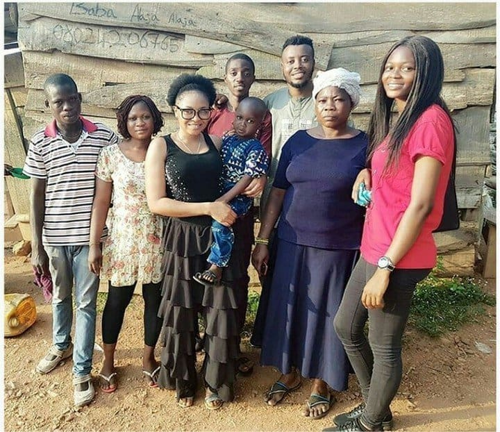 Little Taju that Nigerian celebrities have been searching for has been found