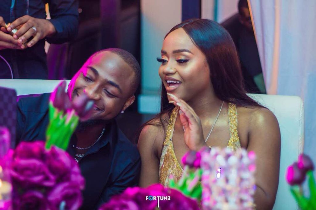 Davido's girlfriend, Chioma blasts fans who say she is not pretty