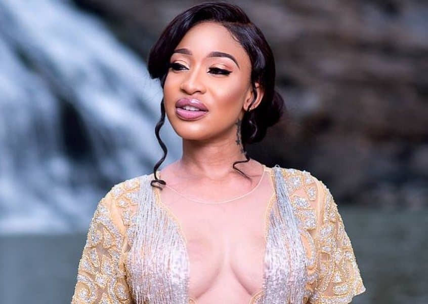 Photo of Tonto Dikeh explains why she now writes and speaks in tongues