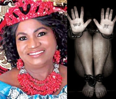Photo of Queen of Brass Kingdom, Josephine Diete-Spiff, narrates how she escaped sex slavery in Europe