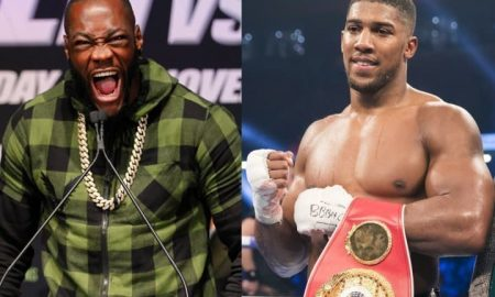 Deontay Wilder says he has agreed to fight Anthony Joshua in the UK