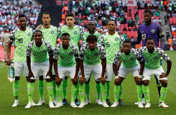 Super Eagles kits lead in poll for best dressed conducted by CNN