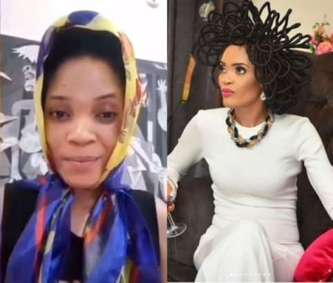 Model with N40m hair cuts it after Super Eagles lost to Croatia (Photo)