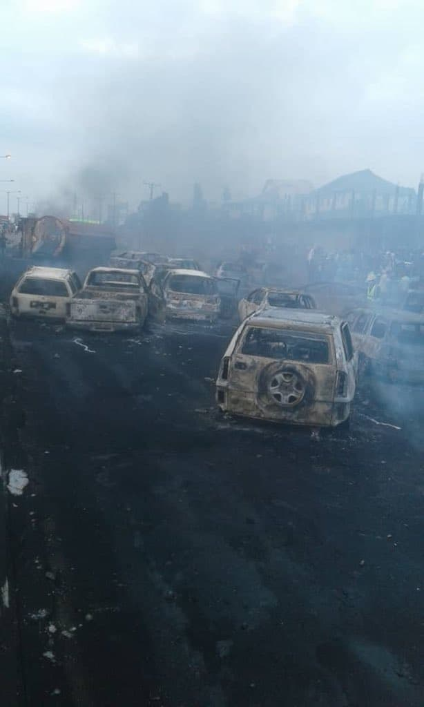 Photo of FRSC releases statement on Otedola Explosion, reveal new route motorist must take