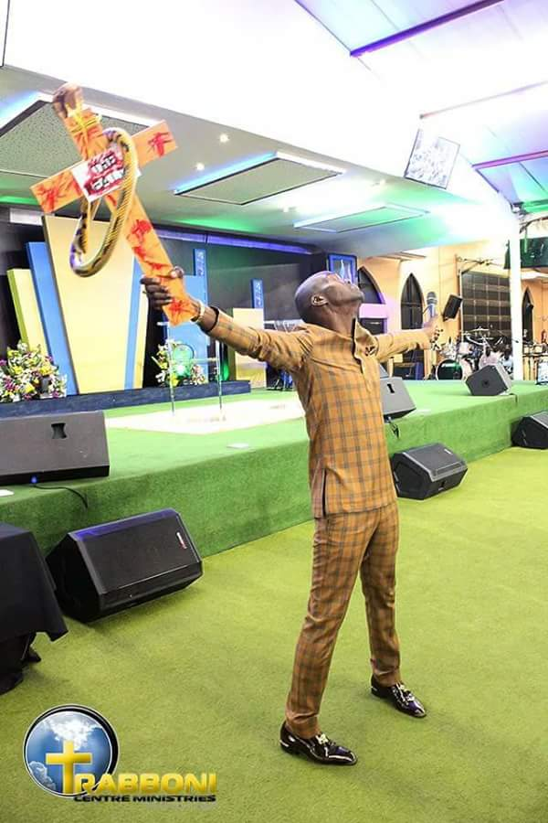 pastor performing miracles with snake