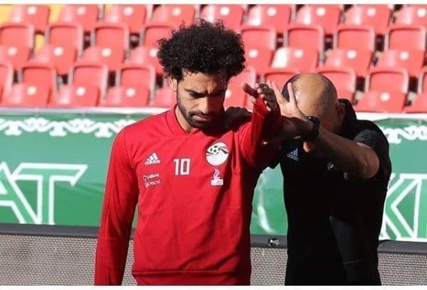 Photo of Mohamed Salah training hard to stay fit for Egypt's first world cup game (Photos)