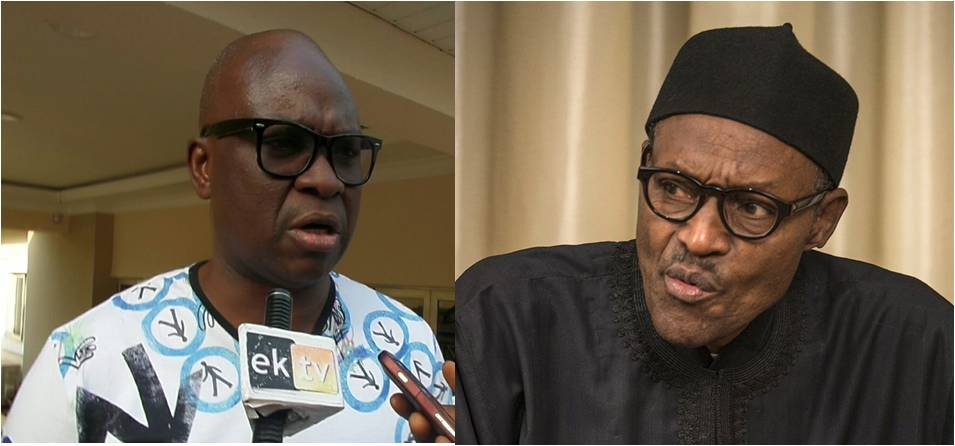 Fayose says Buhari is too old to run in 2019 elections