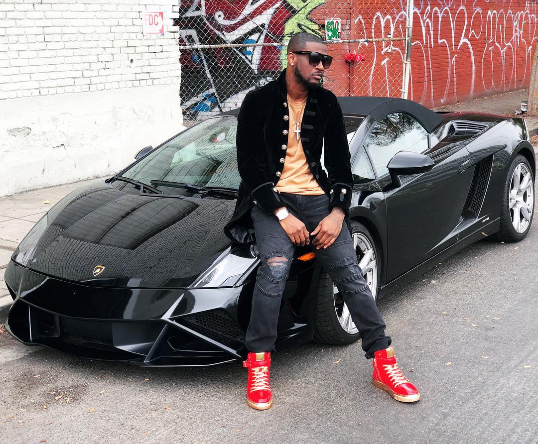 Peter okoye cars
